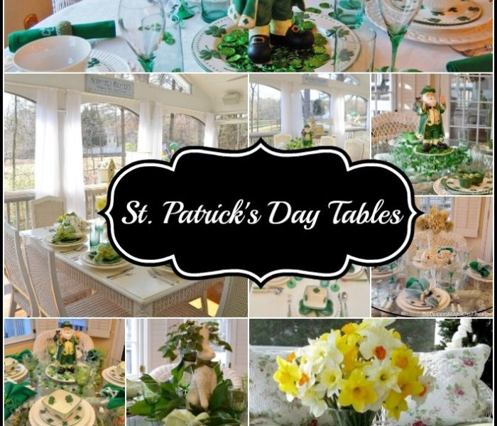 11 St. Patrick's Day Tables, Through the Years