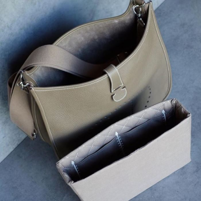 24470b9130071 A Handbag Organizer for the Hermes Evelyne Bag, or Other Narrow ...