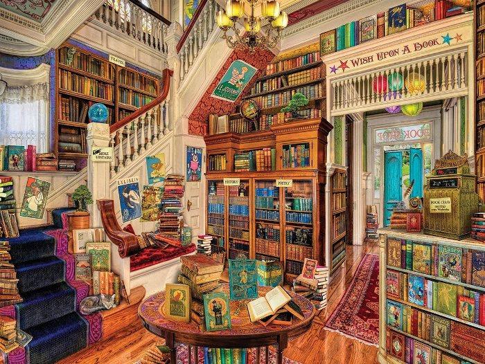 Book Shop, Cats Puzzle