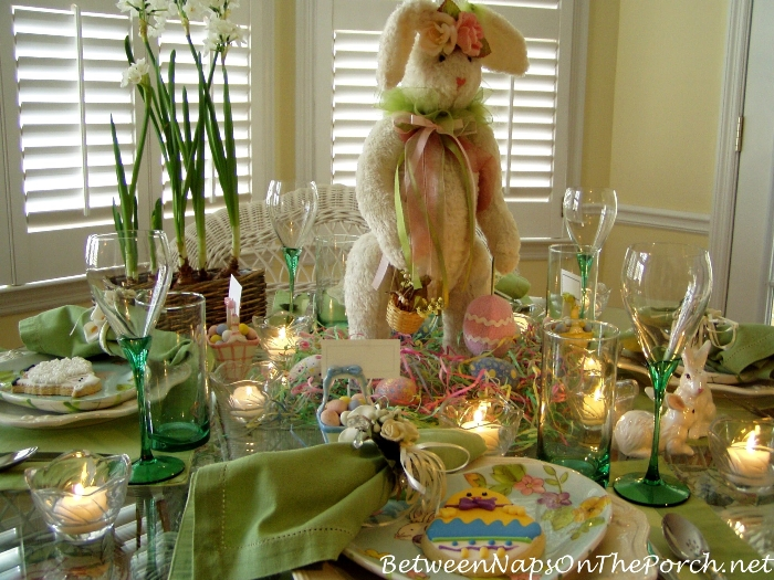 Bunny for Easter Centerpiece