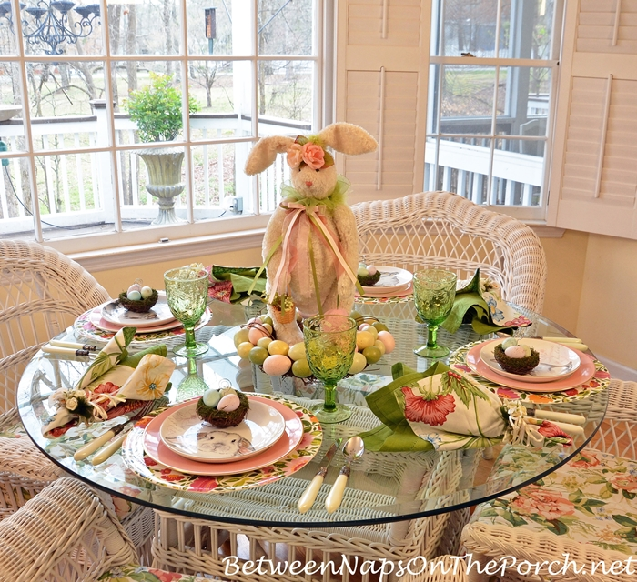Easter Table Setting, 2018