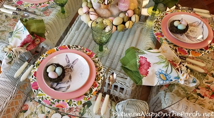 Easter Tablescape, 2018
