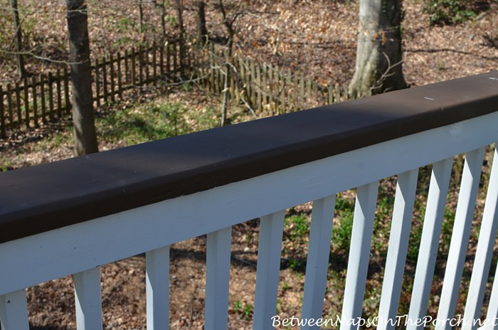 Painted Deck Rails