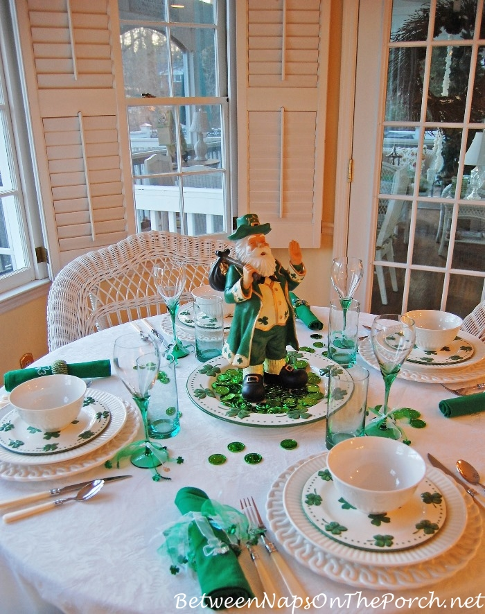 St. Patrick's Day Table Setting Ideas