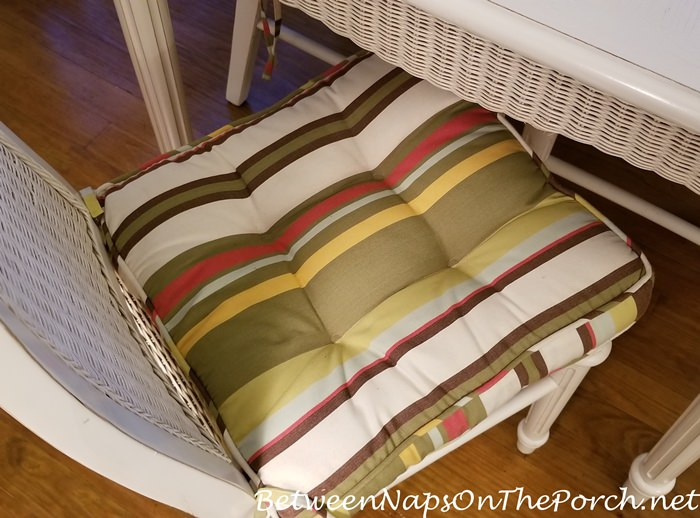 Striped Chair Cushions