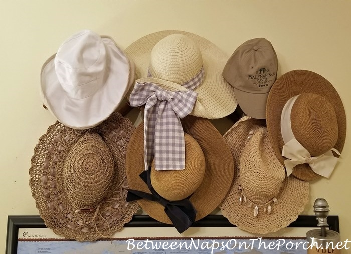 Summer Hats, Hat Rack