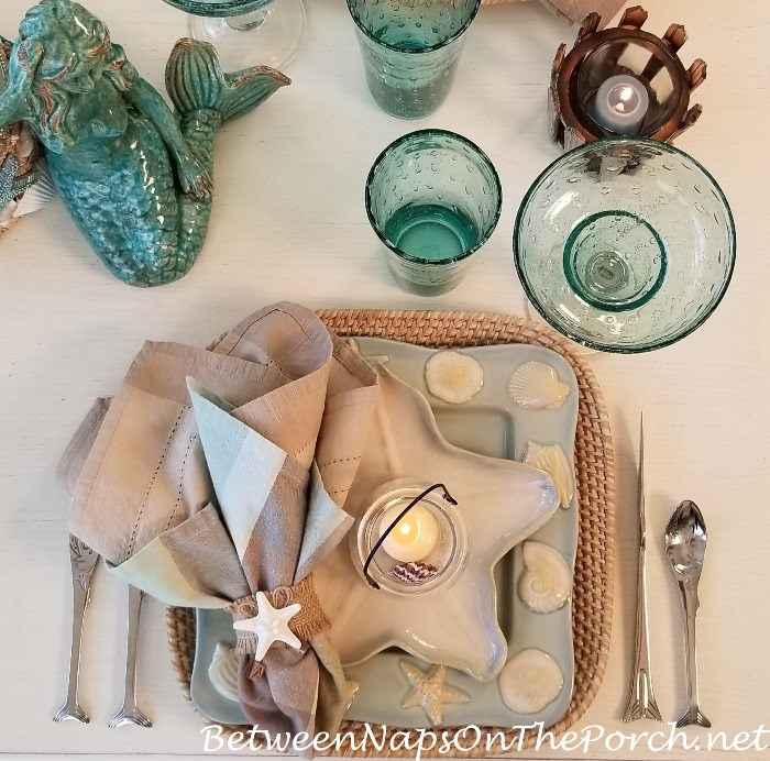 Beach House Dinnerware, Shoreline Collection by Home Studio