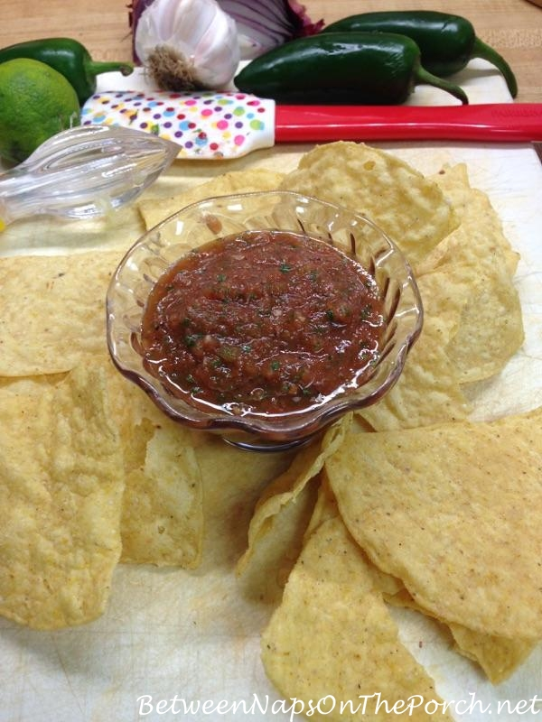 Make Home-made Salsa for a Party
