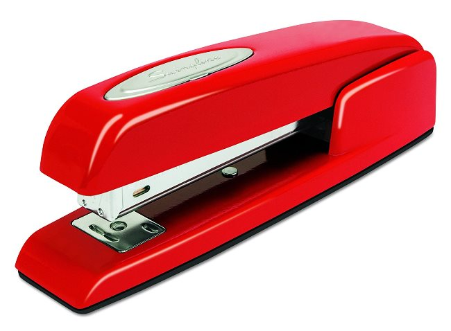 Red Swingline Stapler from Office Space