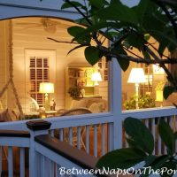 Soft Lighting for Relaxing on Porch at Night
