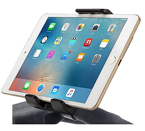 iPad Holder for Exercise Bike Handlebar