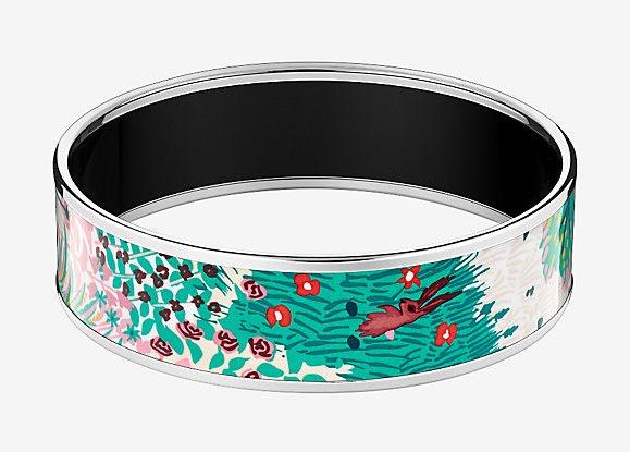 Dans Un Jardin Anglais Bangle Bracelet by Hermes