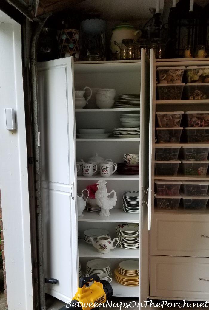 Dishware Storage, Garage