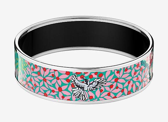 Hermes Enamel Bangle Bracelet, Dans Un Jardin Anglasi