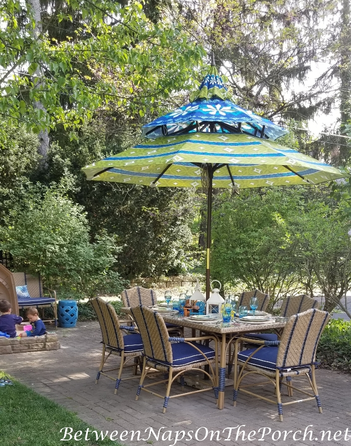 Pagoda Umbrella for Outdoor Table, Outdoor Dining 2