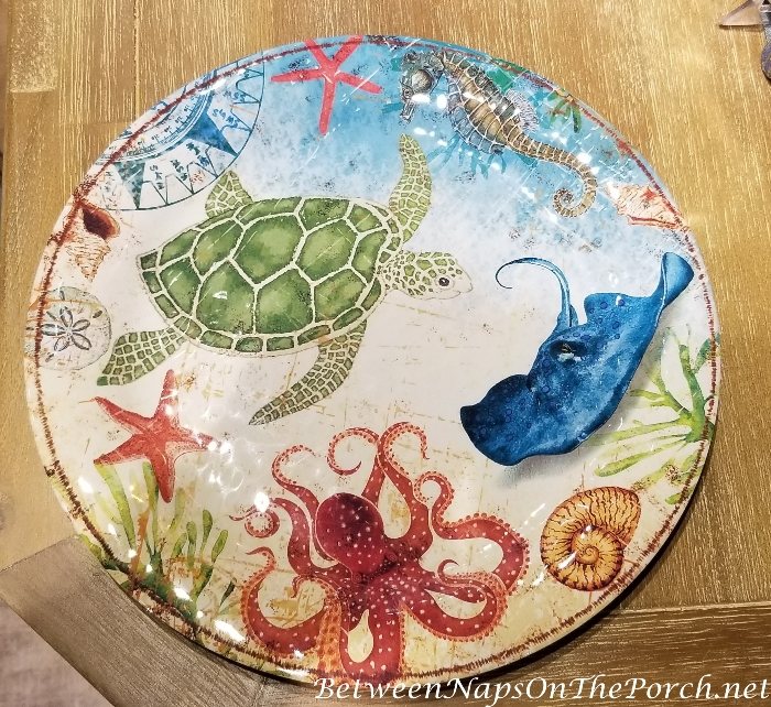 Sea-Creature Dinnerware for Outdoor Dining, Child-Safe 2