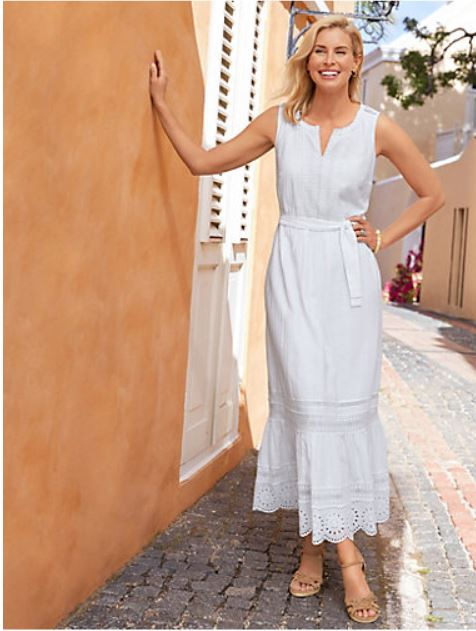 Summer Maxi Dress in White
