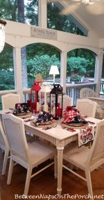 A Beach-Themed Table Setting for the 4th of July: Happy Independence Day!