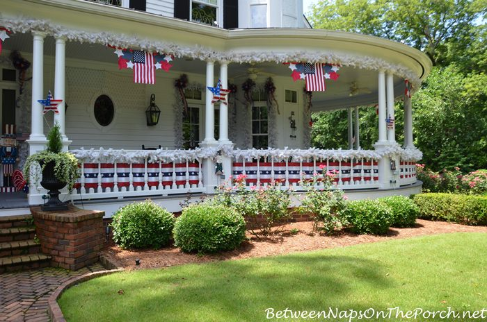 4th of July Porch Ideas