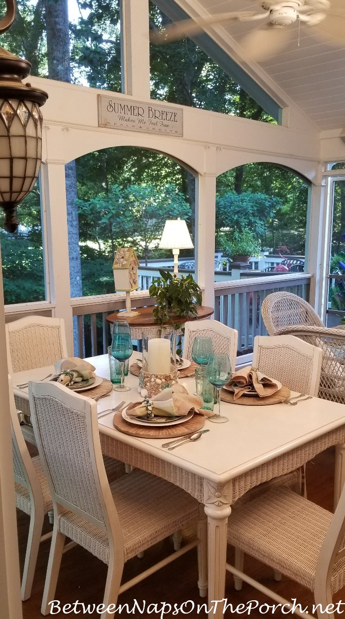 Add a Screened Porch to Your Home, Outdoor Entertaining