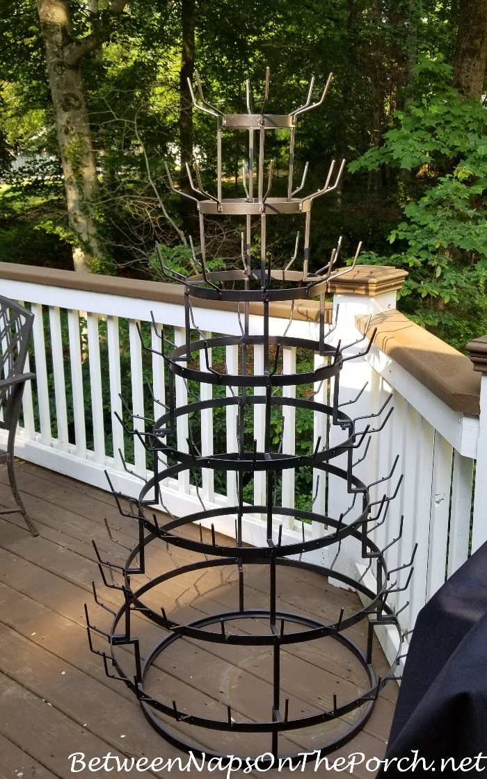 Bottle Tree After Painting