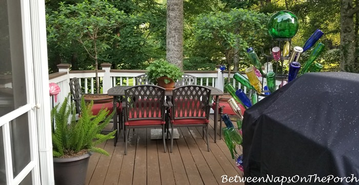 Deck Makeover for Spring