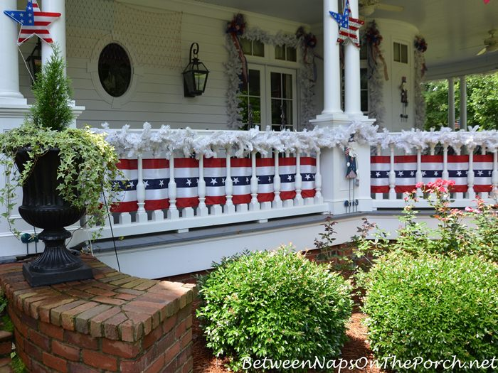 Decorate your porch for Independence Day