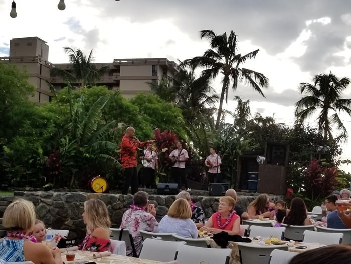 Entertainment at Luau, Maui Hawaii 01