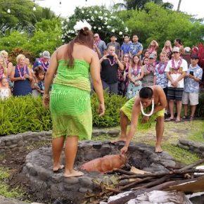 Entertainment at Luau, Maui Hawaii 02