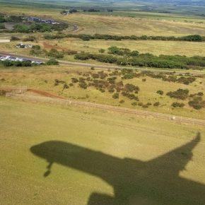 Shadow of Plane, Maui