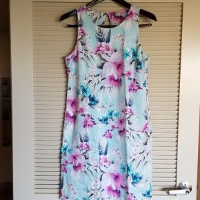 Tommy Bahama Floral Linen Dress