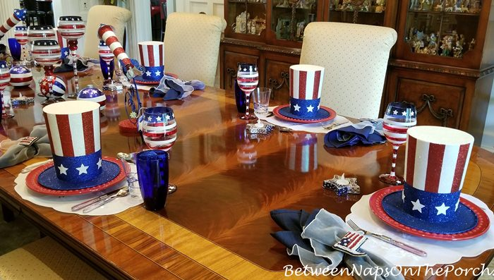 4th of July, Independence Day Table