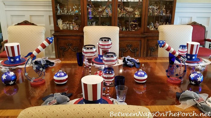 4th of July Table Centerpiece Idea