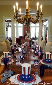 4th of July Table & Centerpiece Ideas