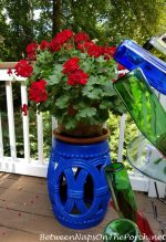 A Few Porch Updates & A Garden Seat Makeover