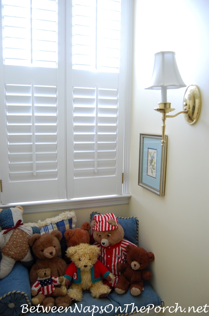 Dormer Window, Stuffed Toys, Wall Lantern