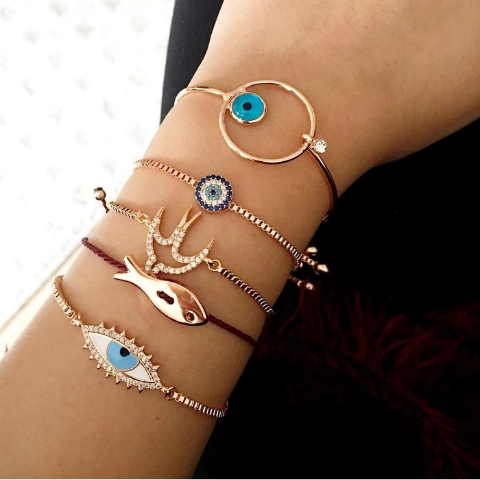 Evil Eye Bracelets, Fun & Colorful