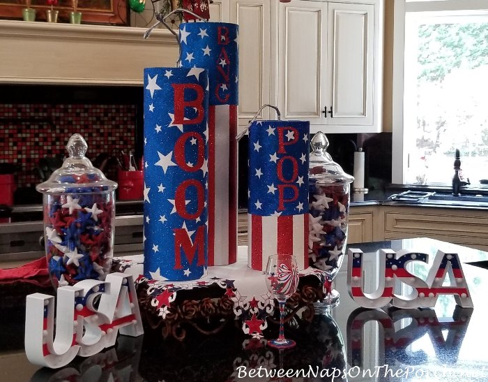 Festive 4th of July Centerpiece