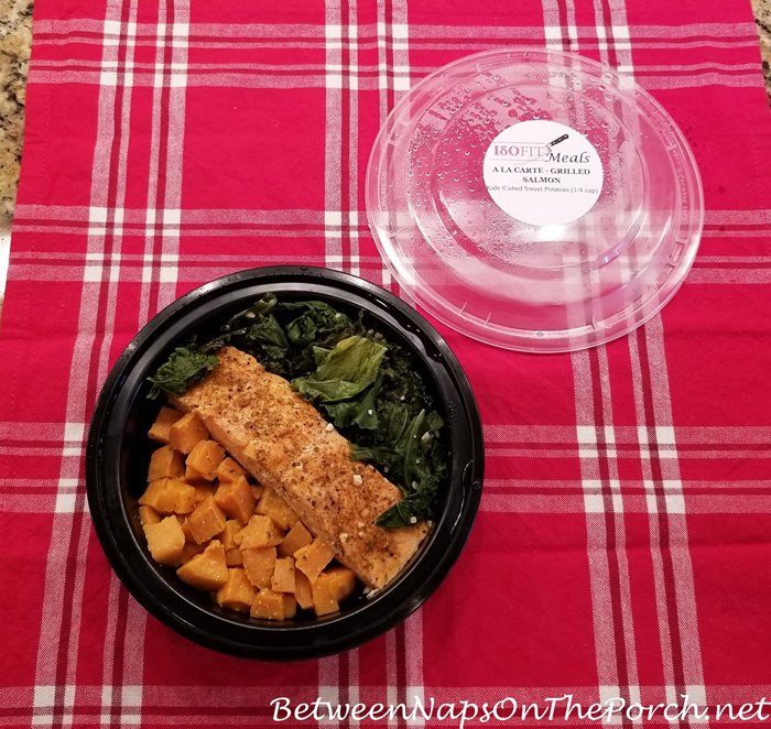 ISOFIT Salmon, Sweet Potatoes & Kale