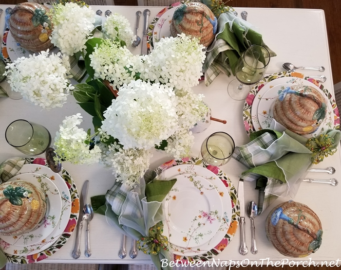 Limelight Hydrangeas for Summer Entertaining and Dining