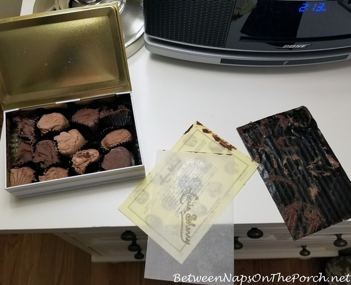 Louis Sherry Chocolates Melted During an August Delivery