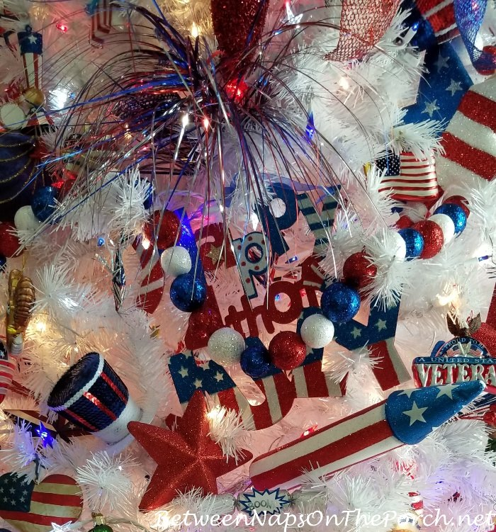 Ornaments & Decorations for 4th of July Tree