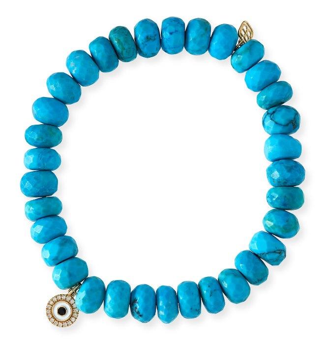 Turquoise Evil Eye Bracelet