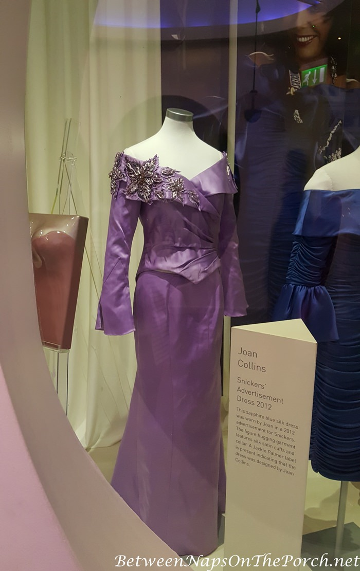 2-Piece Lavender Ensemble worn by Joan Collins to the 2003 British Comedy Awards, Designed by Mark Zunino