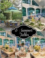 5 Creative Tables for Summer