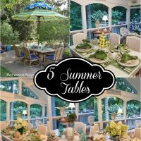 5 Tables for Summer-2018