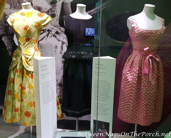 Audrey Hepburn's Dresses from the Movies Charade and Breakfast Tiffany's