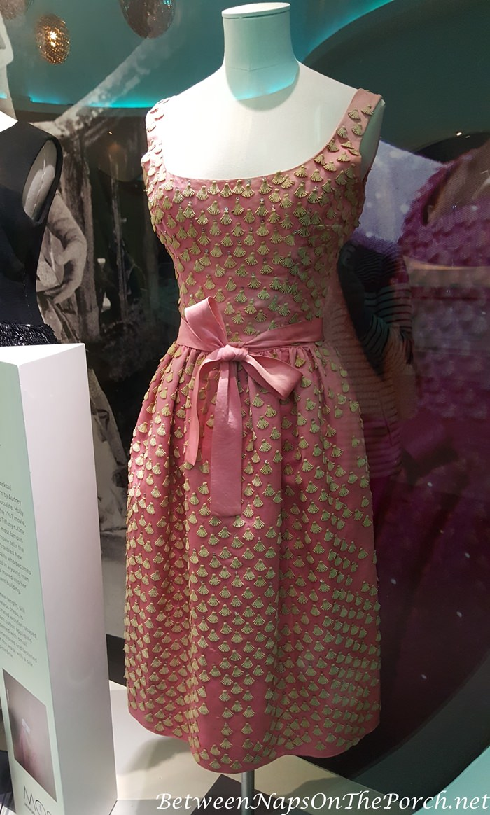 Audrey Hepburn's Pink Dress from Breakfast at Tiffany's