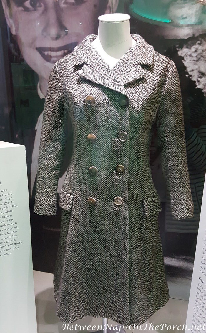 Audrey Hepburn's Tweed Coat