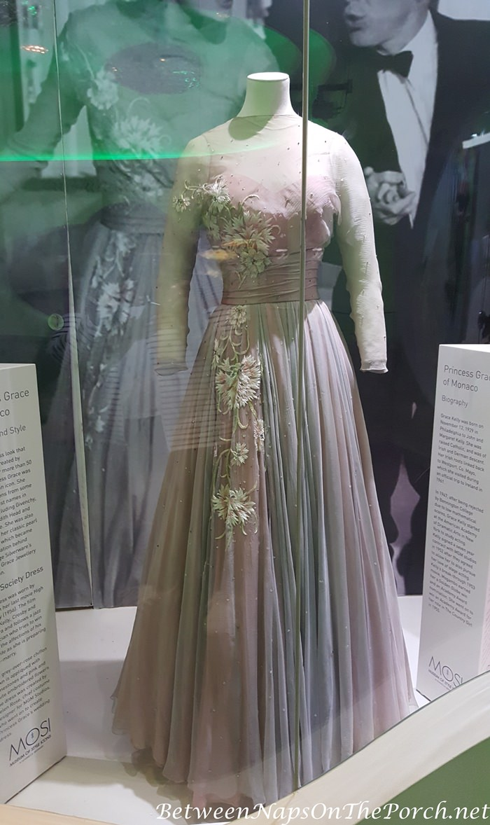 Evening Gown belonging to Princess Grace of Monaco